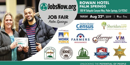 Palm Springs Job Fair-JobsNow.org