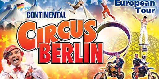 Continental Circus Berlin - London Blackheath