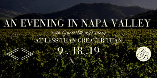 Napa Valley Wine Tour with Ghost Block