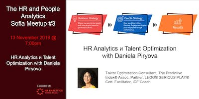 HR & People Analytics Chapter Sofia MeetUp #3