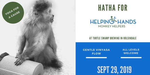 Hatha for Helping Hands Monkey Helpers