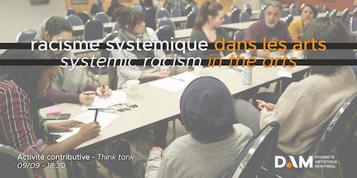 Vos pistes de solutions au racisme systémique dans le milieu culturel