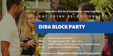 DIBA BLOCK PARTY tickets