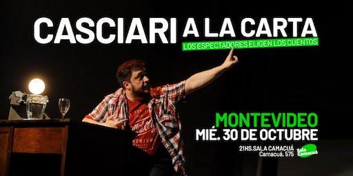 Casciari a la carta — MIÉ 30 OCT, Montevideo