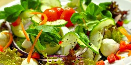 Sensational Salads - Cooking Class tickets