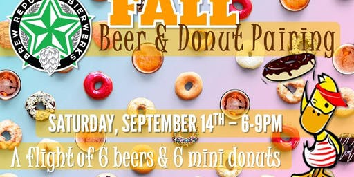 Fall Beer & Donuts Pairing w/ Duck Donuts