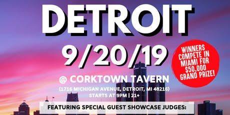 Coast 2 Coast LIVE Artist Showcase Detroit, MI - $50K Grand Prize tickets