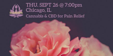 Ellementa Chicago: Cannabis and CBD for Pain Relief tickets