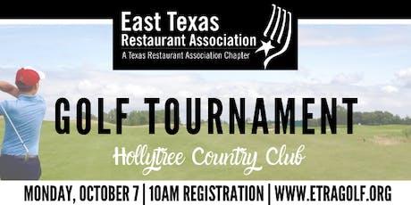 2019 East Texas Restaurant Association Golf Tournament tickets