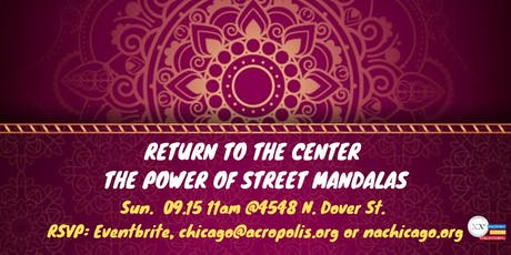 Return to the Center - The Power of Street Mandalas tickets