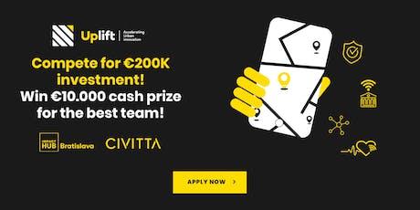 UPLIFT Accelerator Meetup Bratislava 2019 tickets