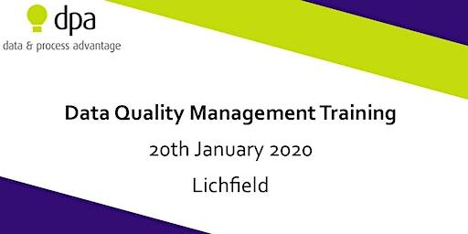 Data Quality Management Training