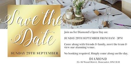 Diamond Wedding Open Day tickets