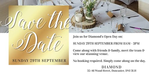 Diamond Wedding Open Day