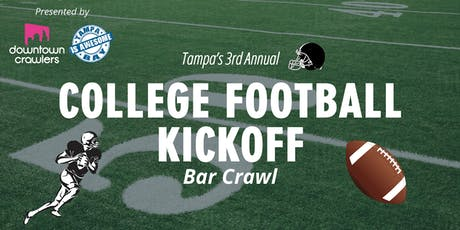 Tampa's College Football Kickoff Bar Crawl tickets