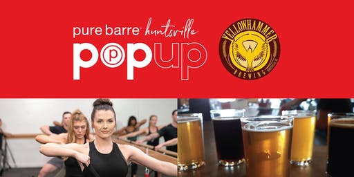 Yellowhammer Brewing Pop-Up with Pure Barre-Huntsville