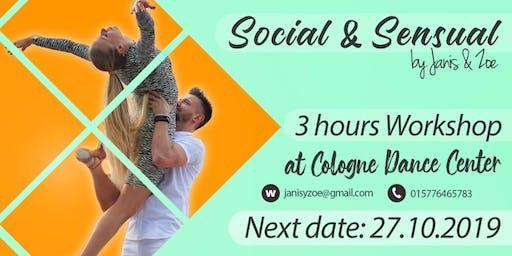 3h Bachataworkshop - Social & Sensual Day by Janis y Zoé