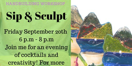 Sip & Sculpt with Angie! tickets