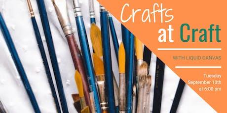 Crafts at Craft  tickets
