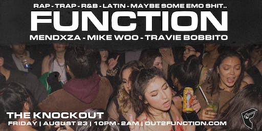 FUNCTION - A RAP PARTY - Knockout SF