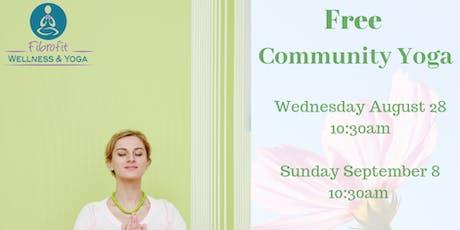 Free Community Yoga  tickets