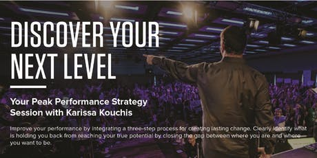 Discover Your Next Level - Peak Performance Session tickets