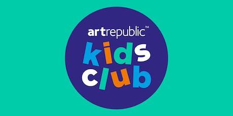 artrepublic Kids Club 19th October 2019 tickets