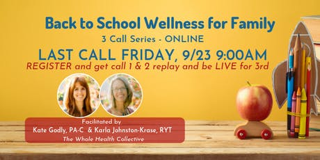 Back to School Wellness for Family tickets