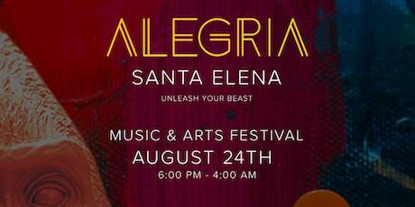 ALEGRIA SANTA ELENA tickets