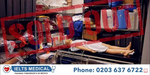 NMC OSCE London hospital review and training - 3 day course (September)