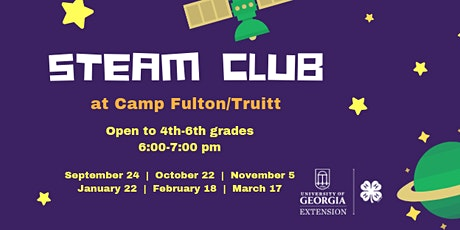 STEAM Club at CFT tickets
