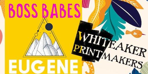 #BossBabesEugene Sept Mix + Mingle at WhitPrint