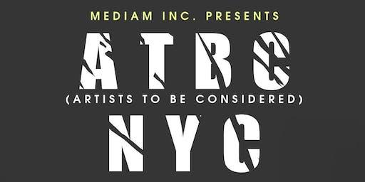 MEDIAM INC. PRESENTS: ATBC NYC // SOUNDS BY HU DAT + Y3LDA + JADA LAREIGN