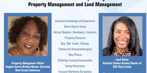 IEAOR Lunch & Learn- Property & Land Managment