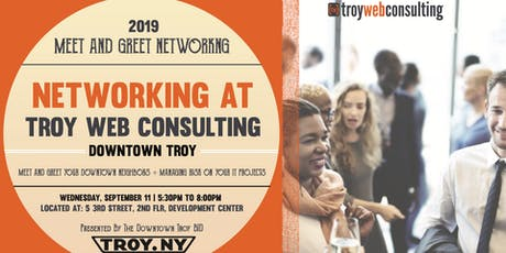 NETWORKING AT TROY WEB CONSULTING tickets