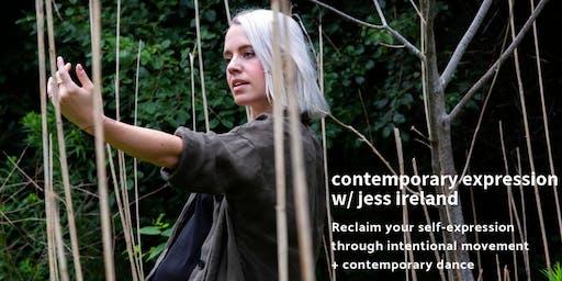 Adult Contemporary Dance/Improvisational Movement Workshop