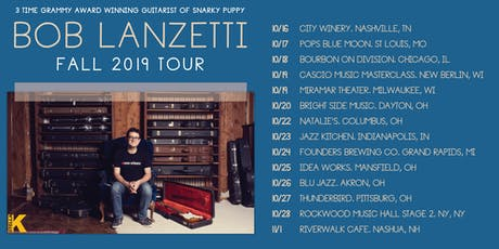 Bob Lanzetti of Snarky Puppy tickets