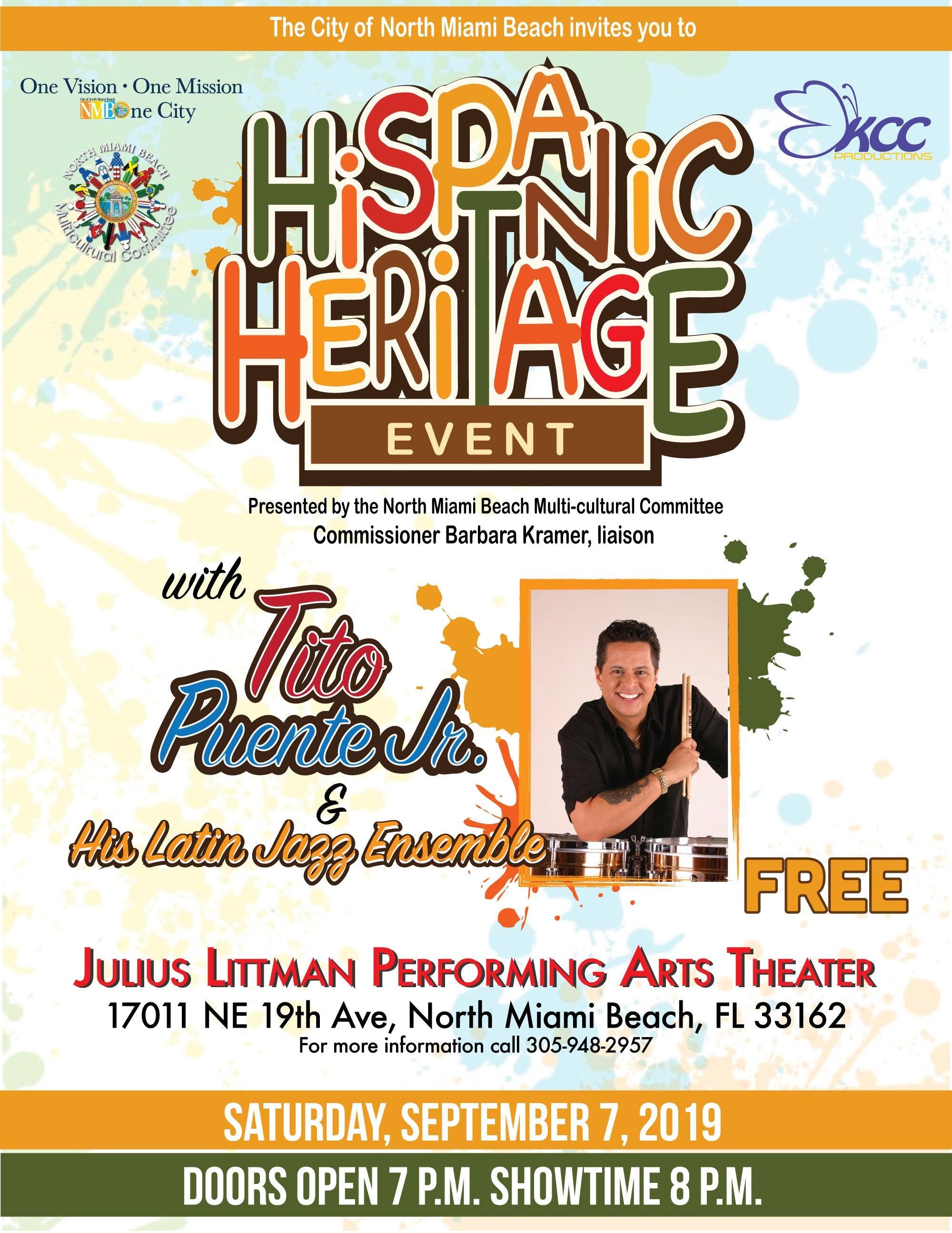 Hispanic Heritage Month Celebration with Tito Puente Jr.
