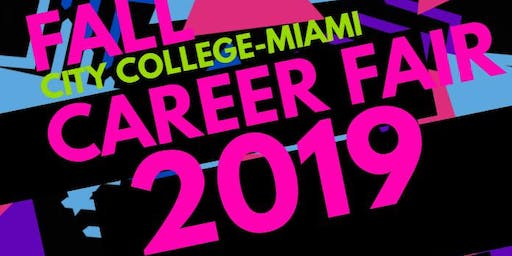 City College-Miami Fall Career Fair- OPEN TO PUBLIC