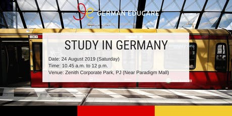 World Class Education - Study in Germany Info Talk [Kelana Jaya] tickets