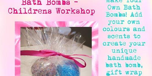 Bath Bombs - Children's Workshop