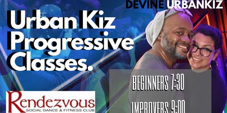 Urban Kiz 8 Week Progressive Dance Classes for Adults Level 1 & 2 tickets