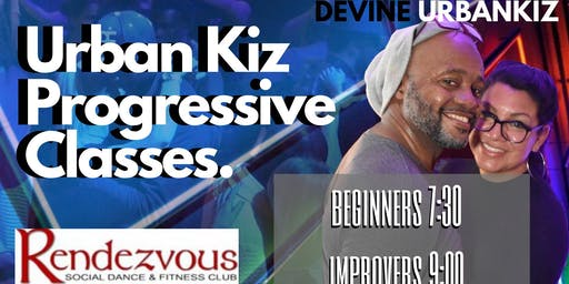 Urban Kiz 8 Week Progressive Dance Classes for Adults Level 1 & 2