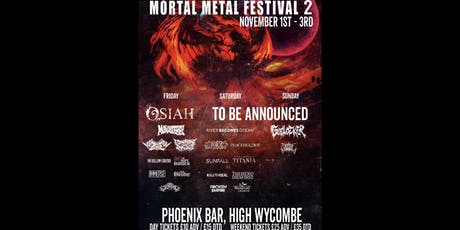 Mortal Metal Festival 2 tickets