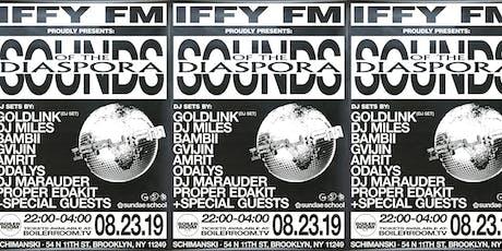 Boiler Room Presents: IFFY FM & GoldLink tickets