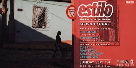 ESTILO SUNDAYS | LABOR DAY WEEKEND tickets