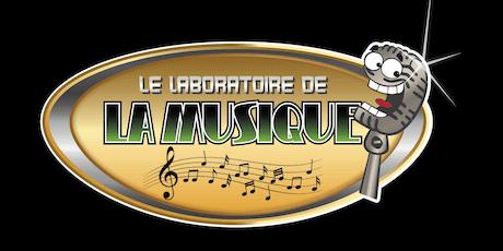 Le laboratoire de la musique billets