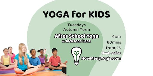 Yoga for Kids - After School Classes
