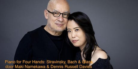Maki Namekawa & Dennis Russell Davies: Piano for Four Hands tickets