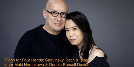 Maki Namekawa & Dennis Russell Davies: Piano for Four Hands